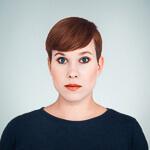 Portrait photo(colour) of Lena Reinhard.