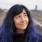 Portrait photo(colour) of Patricia Garcia.